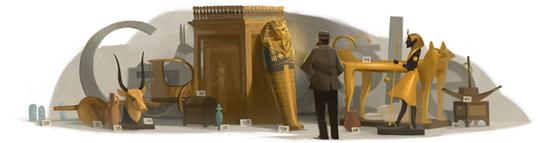 圖坦卡門木乃伊發現者、英國考古學家和埃及學先驅 Howard Carter 138 歲誕辰