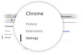 Google Chrome 偏好設定