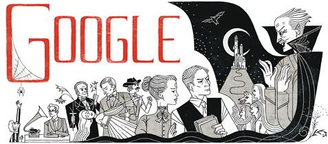 《吸血鬼德古拉》原著、愛爾蘭作家 Bram Stoker 165歲誕辰