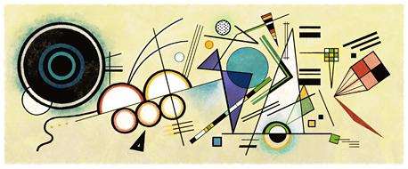 抽象藝術先驅 - 俄羅斯畫家、美術理論家 康丁斯基 146歲誕辰。Courtesy of the Estate of Wassily Kandinsky / ARS
