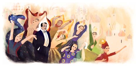 Sergei Diaghilev's 145th birthday