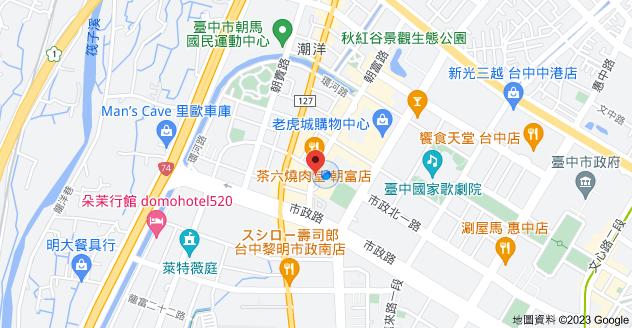 407台中市西屯區朝富路213號地圖