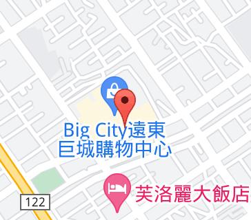Big City遠東巨城購物中心地圖